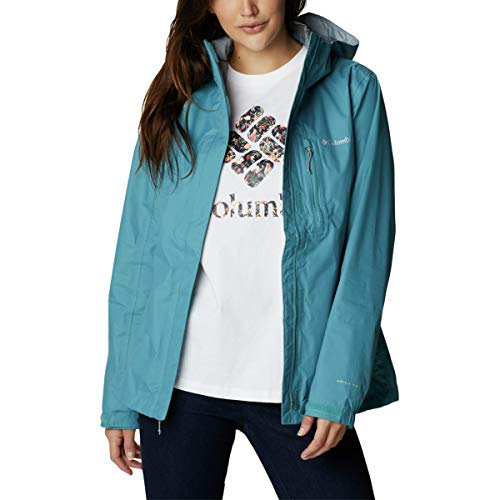 Columbia Pouring Adventure II Jacket, Mujer, Azul (Canyon Blue), S