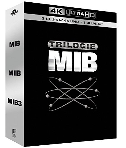 Men in Black-Trilogie [4K Ultra HD + Blu-Ray]