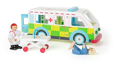 Krankenwagen Holz aufklappbarer