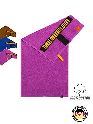 skilly FlexBand Fitnesshandtuch | Antirutschfunktion | 100X50cm | Gym Handtuch | Sporthandtuch aus 100% Baumwolle | Damen & Herren