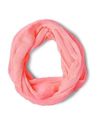 CECIL Damen Schal 570819, Orange (neon apricot 11646), One Size(Herstellergröße:A)