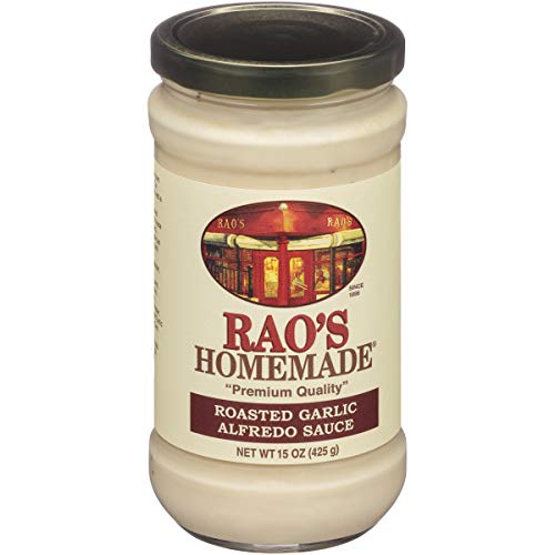 Rao's Homemade Roasted Garlic Alfredo Sauce, 15 Ounce Jar