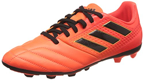 adidas Ace 17.4 FxG J, Zapatillas de Fútbol Mujer, Multicolor (Solar Orange/Core Black/Solar Red), 37 1/3 EU