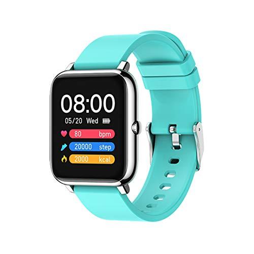 Moda Touch Completo P22 Smart Watch Ladies Relojes Deportivos para Hombres Los Relojes De Las Señoras Electrónicas Andriod iOS Reloj De Teléfono Móvil,G