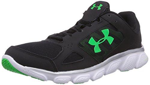 Under Armour UA MICRO G ASSERT V - zapatillas de running de material sintético hombre, Color Negro negro/blanco/gris 003, Talla 45