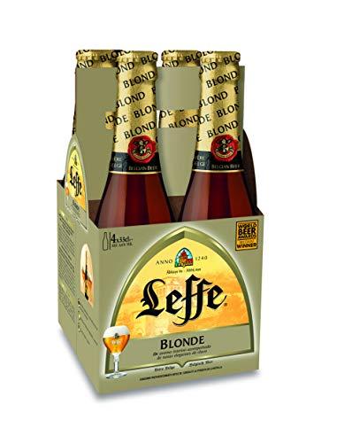 Leffe Blonde Cerveza - 6x33 cl