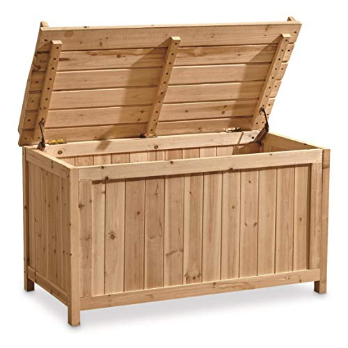 CASTLECREEK Wooden Storage Bench