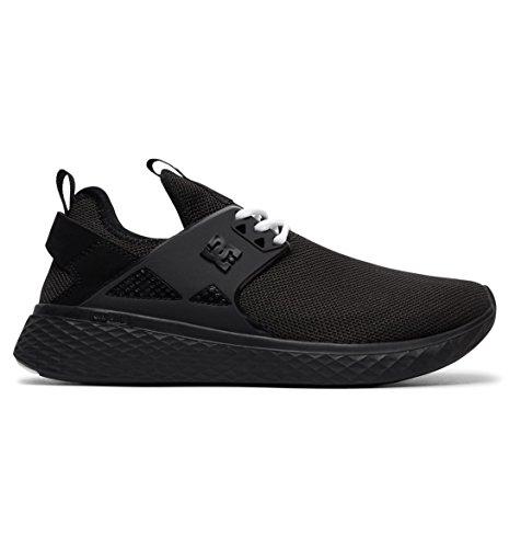 DC Shoes Meridian, Zapatillas para Mujer, Negro (Black/White BKW), 40 EU