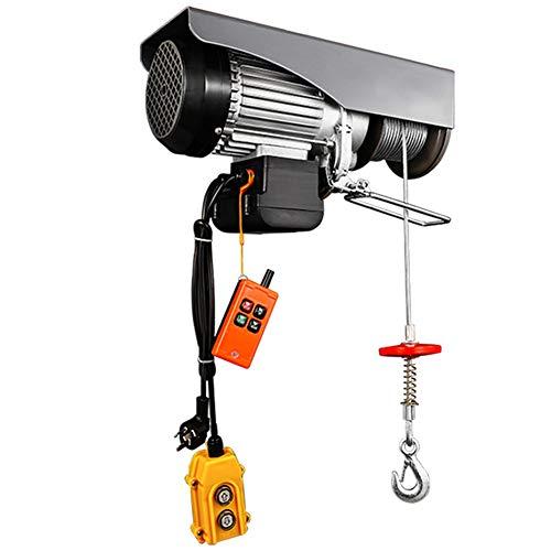 WUK Polipasto eléctrico 510w 650w 850w Carretilla elevadora eléctrica Cabrestante eléctrico, Cable...