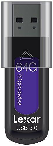 Lexar JumpDrive S57 USB-Stick 64 GB USB Typ-A 3.0 (3.1 Gen 1) Schwarz, Violett - USB-Sticks (64 GB, USB Typ-A, 3.0 (3.1 Gen 1), 150 MB/s, andere, Schwarz, Violett)