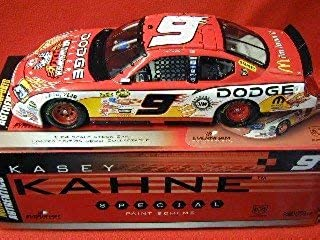 NASCAR Kasey Kahne #9 Dodge Dealers / UAW-Daimler Chrysler 400 2006 Charger 1/24 Scale Action Racing RCCA Club Car Diecast Limited Production Hood Opens Only 250 Made Individually Serialized