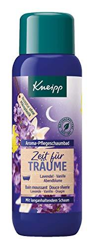 Kneipp Aroma de cuidado baño de espuma Tiempo para Träume Lavanda Noche de vainilla y flores, 400ml