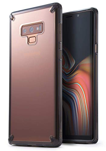 Ringke Fusion Designed for Galaxy Note 9 Case Transparent Shock Absorption Phone Cover for Galaxy Note9 - Smoke Black