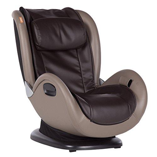 Human Touch iJOY 4.0 Reclining Massage Chair, 4 Programmed Massage Modes, Espresso/Gray