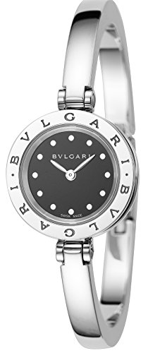 [ブルガリ] 腕時計 B-ZERO1 ブラック文字盤 BZ23BSS.M 並行輸入品 シルバー