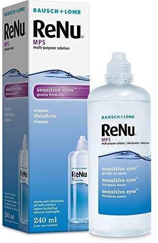 Bausch & Lomb Renu MPS Multifunktions-Kontaktlinsenlösung, 240 ml