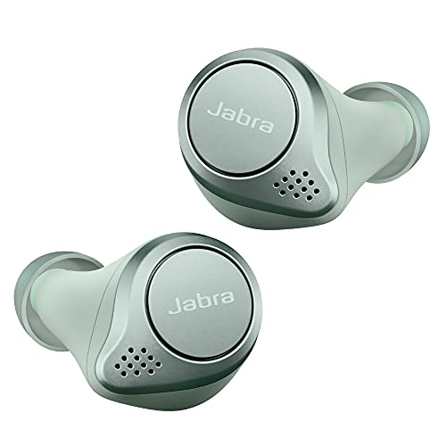Jabra Elite Active 75t – Sport-Kopfhörer mit aktiver Geräuschunterdrückung und langer Akkulaufzeit für True-Wireless-Erlebnis bei Telefonaten und Musik – Mint Grün