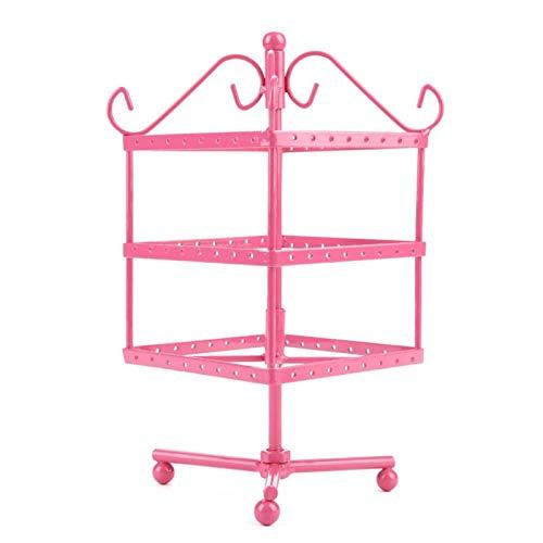 Soporte para joyas Durable Hermoso y práctico, para almacenamiento de joyas(Pink)