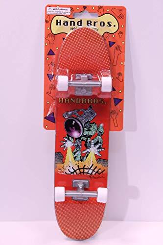 HANDBROS Handboard Skateboard 27cm 10.5 inch Tech Large Finger Board W/Grip 'VXBOT'