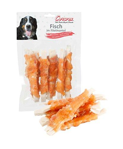 Corwex Hundesnack Fisch im Filetmantel (70 g)