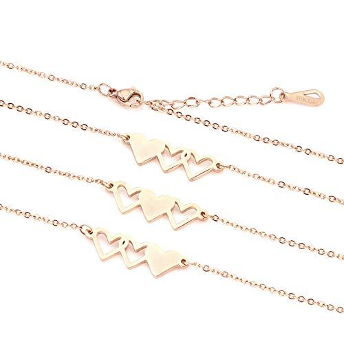 Best Friend Bracelet For 3 Sister Jewelry Bangle Gift Friendship (3 sister bracelet)