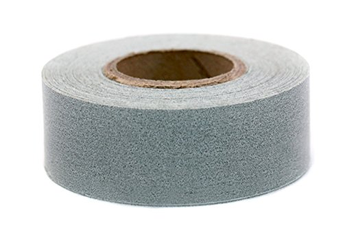 ChromaLabel 1 Inch Clean Remove Color-Code Tape, 500 Inch Roll, Gray