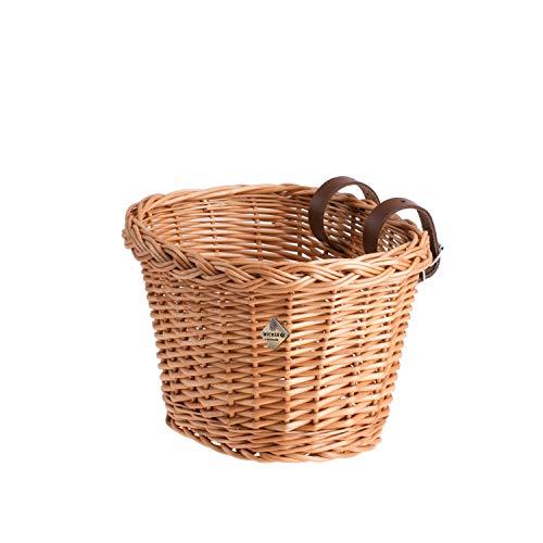 e-wicker24 Fahrradkorb für Kinder, Korb für Kinderfahrrad, Kleiner Fahrradkorb, Fahrradkorb aus Weide