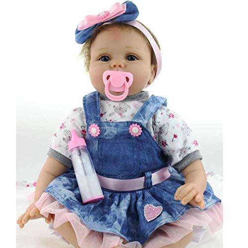 ZIYIUI 22 Pulgadas 55 cm Hecho a Mano Reborn Baby Dolls Girl...