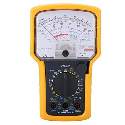Ein-Aus-Unterscheidung Analoges Multimeter Hochempfindliches KT7050 Hochpräzises Ohm-Testmessgerät zur Batteriemessung Mit Spiegelfunktion