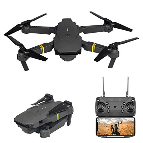 XIAOKEKE Drone WiFi FPV 4K HD Camera, Best Drone for Beginners with Altitude Hold, Gravity Control, G-Sensor, Trajectory Flight, 3D Flips, Headless Mode, One Key Operation, with Storage Box