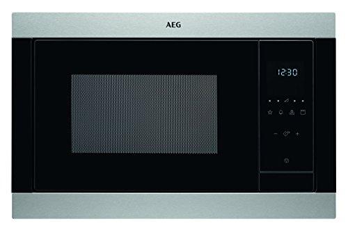 AEG MSB2547D-M 60cm Einbau-Mikrowelle / Touch-Bedienung / Grillfunktion / Display mit Uhr