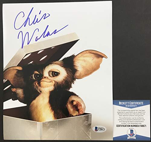 CLASSIC!!! Chris Walas Signed GREMLINS 8x10 Photo #2 GIZMO Beckett BAS