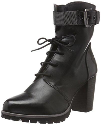 bugatti Damen V76381 Kurzschaft Stiefel, Schwarz (schwarz 100), 40 EU