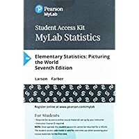 MyLab Statistics with Pearson eText - Standalone Access Card - for Elementary Statistics: Picturing the World (7th Edition)【洋書】 [並行輸入品]