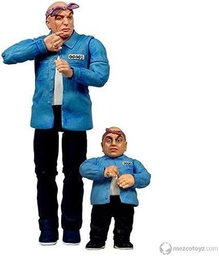 Austin Powers Prison Dr. Evil & Mini Me by Mezco