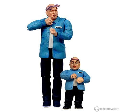 Austin Powers Prison Dr. Evil & Mini Me by Mezco 1