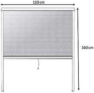 Protection Contre Insectes 160 x 110 cm Daonanba Moustiquaire pour Fen/être De Toit Pliable avec Store Occultant Isolant Thermique