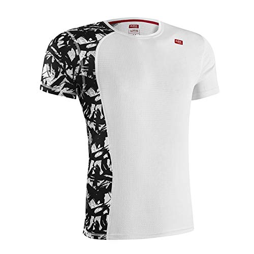 42K Running - Camiseta técnica Lotus Original White Hombre M