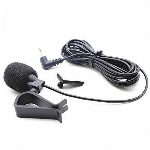 2.5mm Microphone Mic Assembly for Car Vehicle Head Unit Bluetooth Enabled Stereo Radio GPS DVD for Pioneer