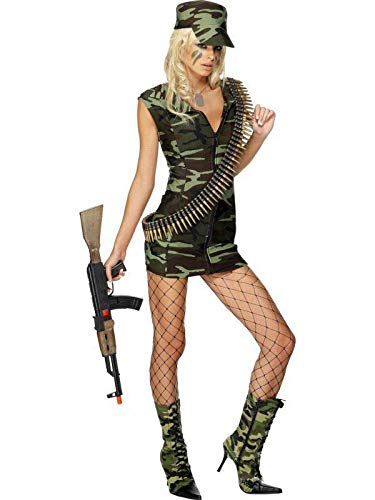 Mujer Sexy Camuflaje Ejrcito Militar Disfraz Comando Traje Cosplay Uniforme