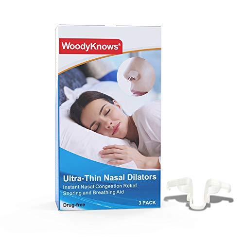 WoodyKnows - Dilatadores nasales ultrafinos (Cambo 3 piezas)