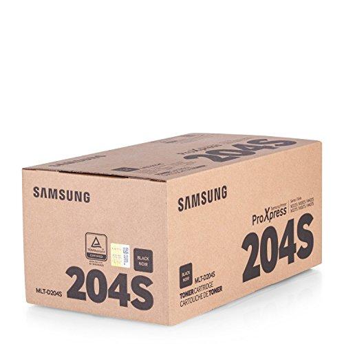 Original Toner passend für Samsung SL-M 3325 ND Samsung 204MLTD204S , MLT-D204S/ELS , MLTD204SELS - Premium Drucker-Kartusche - Schwarz - 3.000 Seiten