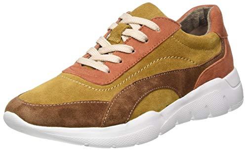 Jana 100% comfort Damen 8-8-23729-25 Sneaker, Saffron Comb, 43 EU