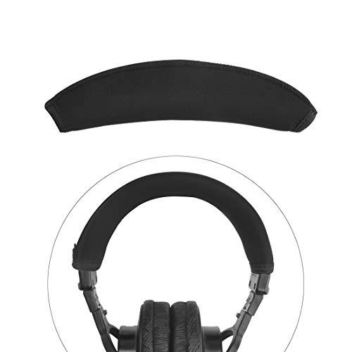 Linkidea Headband Protector, Compatible with Sony MDR V6, V600, V900, Z600, 7506 Headphones Replacement Headband Cover/Replacement Headband Cushion Pad Repair Parts/Easy DIY Installation (Black)