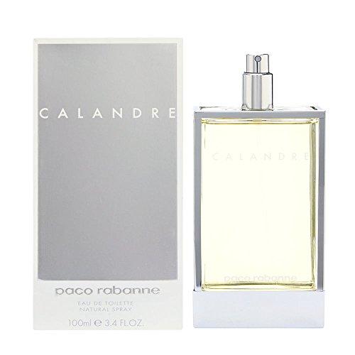 Calandre By Paco Rabanne For Women. Eau De Toilette Spray 3.4 Oz.