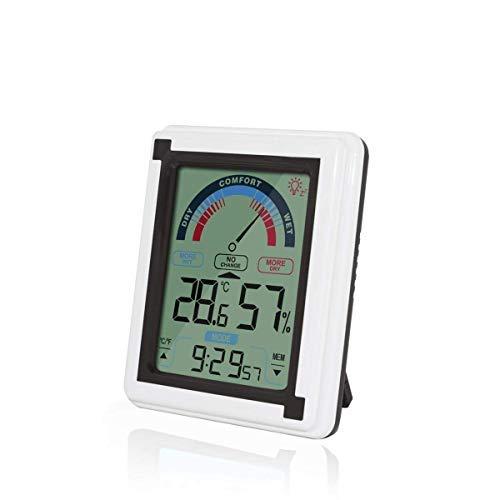 Shuxinmd Digital Hygrometer Thermometer Groß LCD Bildschirm Monitor Temperatur und Luftfeuchtigkeit Meter für Heim Büro Kindergarten Glashaus