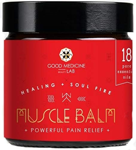 GOOD MEDICINE BEAUTY LAB Muscle Balm Pain Relief Joint Relief Rub (4 oz)