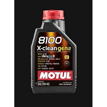 Motul 8100 X Clean Gen2 5w40 Dexos2 3x 1 Litre Car Oil Auto