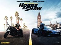 映画ポスター ワイルドスピード スーパーコンボ ホブスアンドショウ Hobbs & Shaw 24×38inc (61×96.5cm) US版 hi2 [並行輸入品]