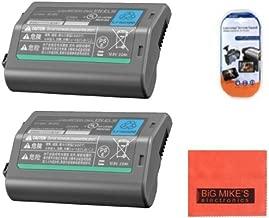 Pack of 2 EN-EL18 Batteries for Nikon D4, D4S, D5 Digital SLR Camera + More!!